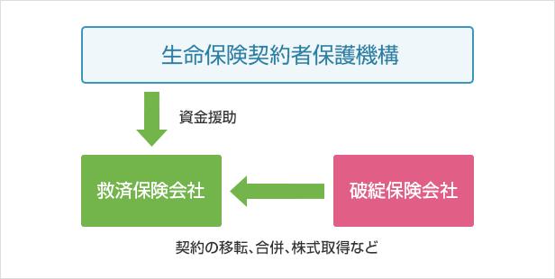 救済保険会社が現れた場合のイメージ図